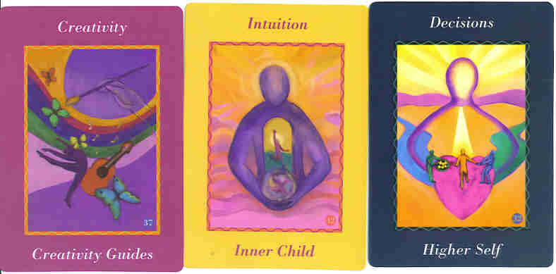 Ask Your Guides Oracle Card Samples